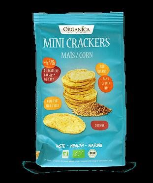 Produit Organica - Crackers maïs quinoa