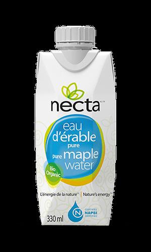 Bouteille eau d'érable NECTA